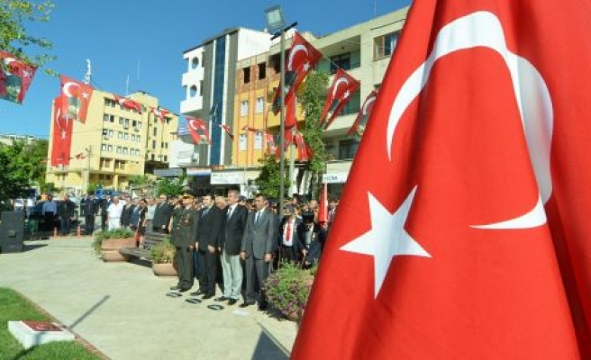 Yatağan'da 19 Eylül Gaziler Günü anma töreni