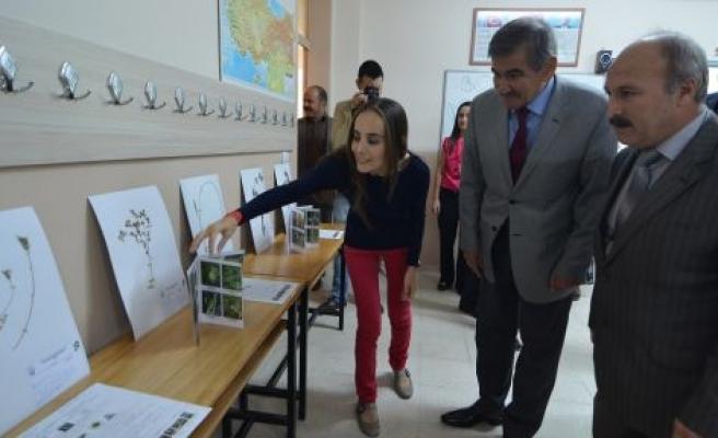 """Yatağan'da """"Botanik Dünyasına Yolculuk 2"""" projesinin sergisi açıldı"""