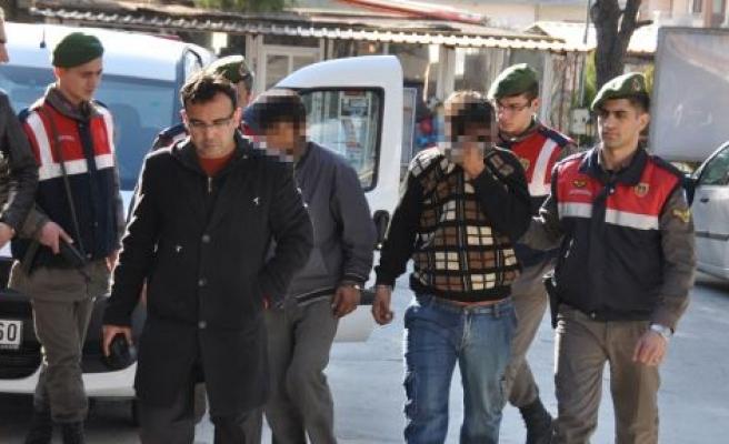 Yatağan'da hırsızlık zanlısı 6 kişi yakalandı
