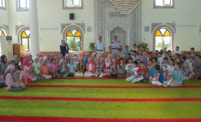 Yaz Kuran Kurslarında 1812 Öğrenciye Din Eğitimi