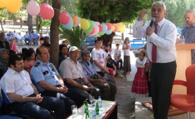Yaz Kurslarının Açılışı Törenle Yapıldı
