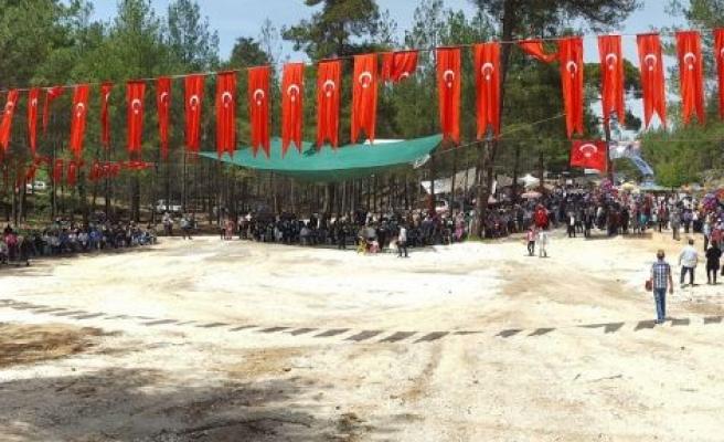 Yukarıyayla Keşkek Festivali'ne yoğun ilgi