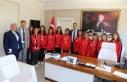 Futsalcılardan Çiçek ve Toksöz'e ziyaret