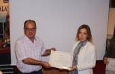 Topaloğlu, Ege İncisi projesinde belgeyle ödüllendirildi