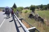 Çine-Yatağan karayolunda trafik kazası!