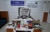 Emniyet ve jandarmadan ortak kaçak silah ve tütün operasyonu