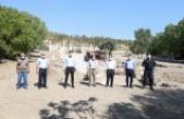 Kaymakam Kökçü, Stratonikeia'da incelemelerde bulundu
