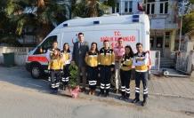 İlçe Sağlık Müdürü, 112 Acil Sağlık Hizmetleri Haftası'nı kutladı