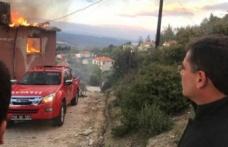 Zeytinköy'de yangın!