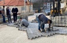 Kavaklıdere Belediyesi, 17 cadde ve sokağı 45 günde kilitli parke taşıyla buluşturdu