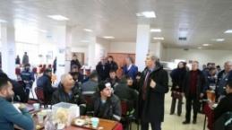 CHP Adayı Halil Arslan dur durak bilmiyor