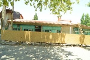 Güzelköy'de restorasyon çalışmaları sürüyor