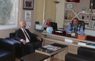 Ali Akalp, belediye başkanlığı için aday adaylığını...