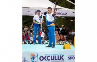 Bencikli okçu, Türkiye finallerini 5'inci tamamladı