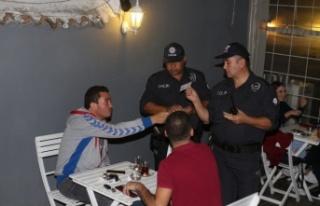 Polis huzur operasyonu gerçekleştirdi