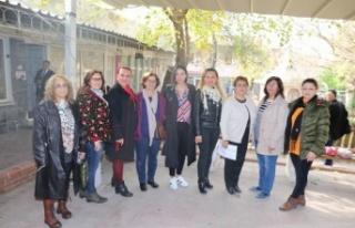 CHP Kadın Kolları, Kadın Hakları Günü'nü...