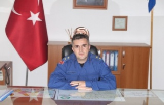 İlçe Jandarmanın vekil komutanı görevine başladı