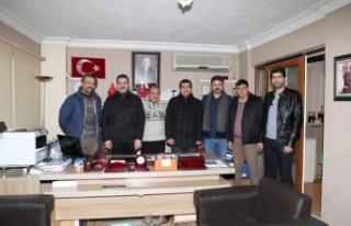 """AK Parti'den """"10 Ocak"""" ziyareti"""