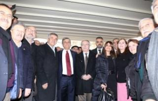 CHP, adayını halka tanıttı