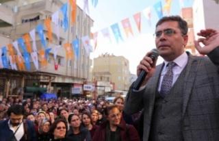 AK Parti seçim bürosu törenle açıldı