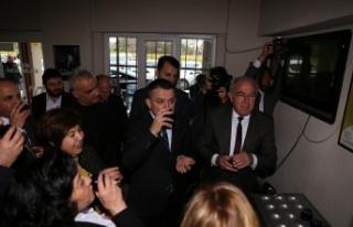 Tarım ve Orman Bakanı, Yatağan'da zeytinyağı...