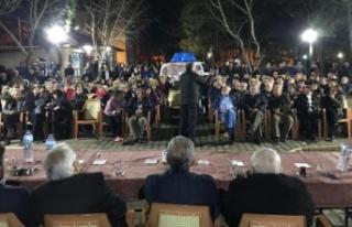 Arslan'dan İnönü Parkı'nda mahalle toplantısı
