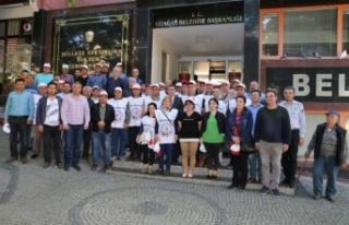 Başkan Toksöz, işçilerin 1 Mayıs'ını kutladı