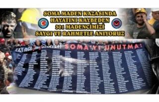 """""""Soma'yı unutmadık, unutturmayacağız"""