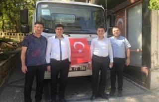 Toksöz'den 3 ayda belediyeye 2'inci araç