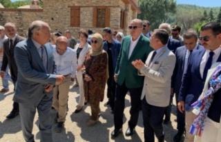 Cumhurbaşkanı Erdoğan'dan Stratonikeia'ya destek...