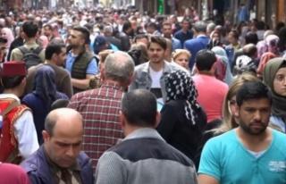 Türkiye'deki yabancı uyruklu kişi sayısı 1...