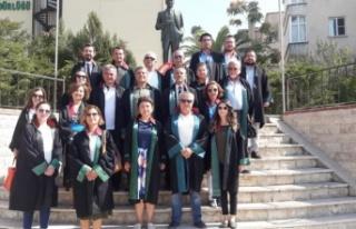Adli yıl, Yatağan'da törenle açıldı