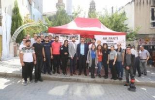 """AK Gençler """"Barış Pınarı Harekatı"""" için..."""