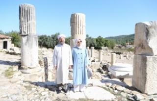 Diyanet İşleri Başkanı Erbaş, 3 bin 500 yıllık...