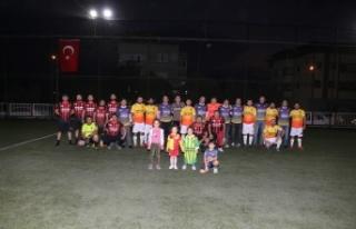 Yatağan Termik Enerji Üretim AŞ'den halı saha...