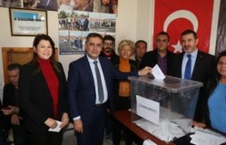 AK Parti'de delege seçimleri yapıldı