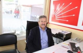 CHP İlçe Başkanı Kemiksiz, yeniden aday