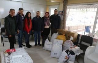 CHP Yatağan'dan Elazığ ve Malatya'ya anlamlı...