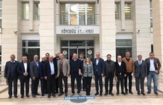 Cumhur İttifakı belediye başkanları ve milletvekilleri...