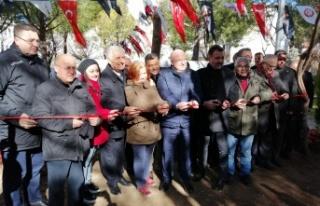 Menteşe'de Basın Parkı açıldı