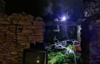Yatağan ilçesinde 1 gecede 2 yangın