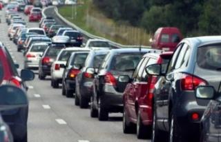 Muğla'da toplam araç sayısı 508 bin 809'a...