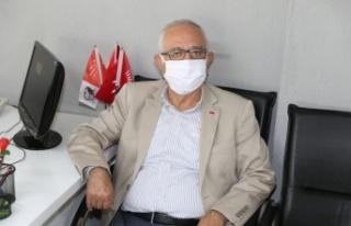 """Zeybekoğlu: """"Ben bile maskemi ve kolonyamı bekliyorum"""""""