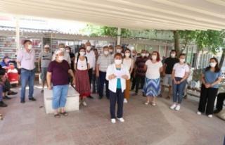 CHP Kadın Kolları'ndan kadın cinayetine tepki!