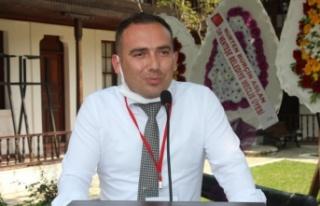Göksel Billur CHP İl Gençlik Kolları Başkanı...