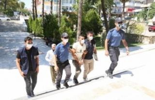 Polisi yaralayansığınmacı, tutuklandı