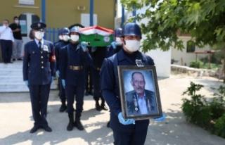 Yatağan'ın son Kore Gazisi, ebediyete uğurlandı