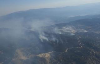 Gökbel Dağı'ndaki yangın kontrol altına...