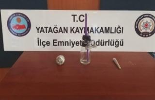 Yatağan'da uyuşturucudan iki kişi gözaltına...