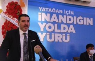 AK Parti Yatağan'da, Ali Tekin güven tazeledi